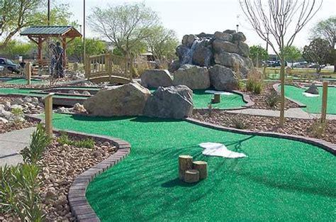 backyard mini golf a mini golf course in my backyard mini golf