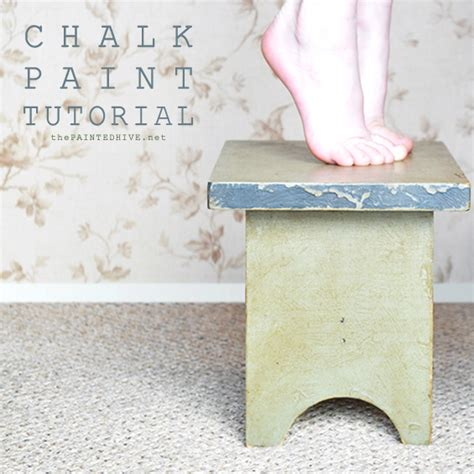 chalk paint not distressed the painted hive chalk paint tutorial distressed