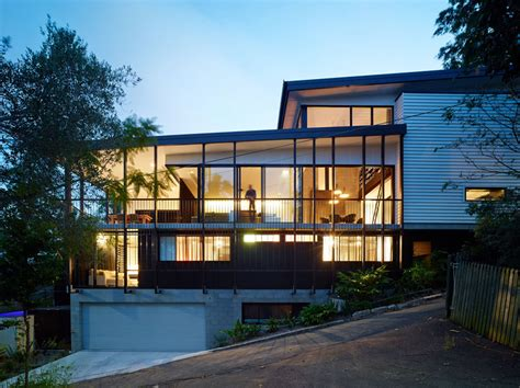 architecture house design creative design solutions implemented in modern house on a slope freshome