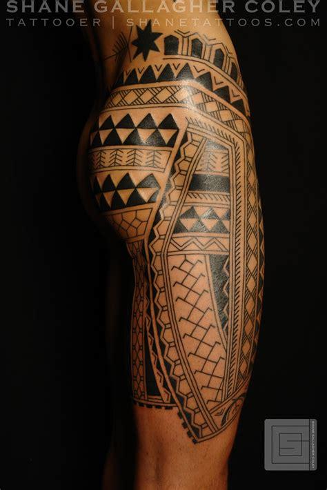 maori polynesian tattoo filipino leg tattoo