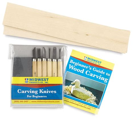 starter tools for woodwork midwest products wood carver s starter kit blick
