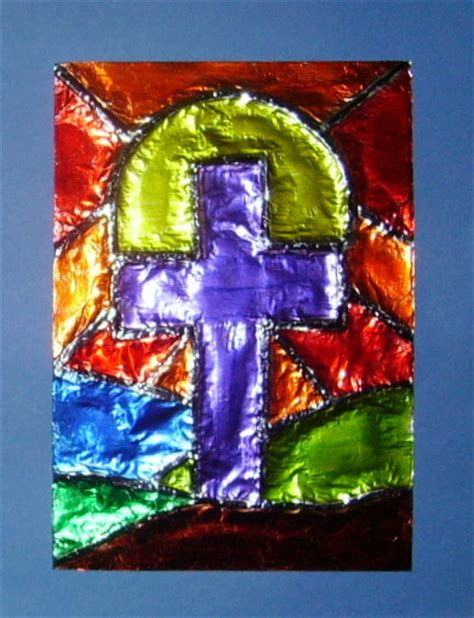 lent crafts for lenten style glitter