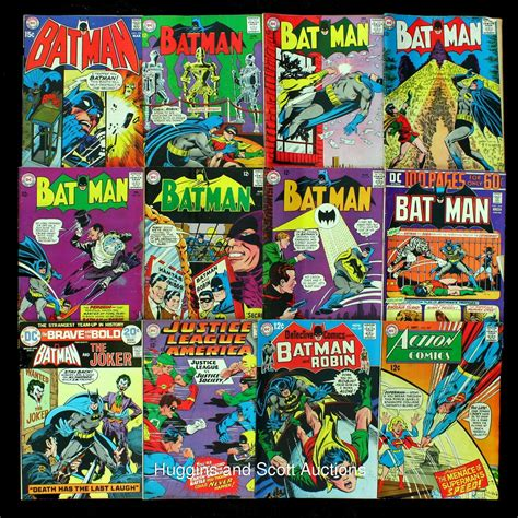 comic books pictures 33 vintage batman comic books with 21 12 cent issues