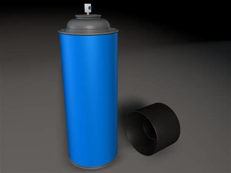 spray painting 3ds xl 3ds max spraycan paint