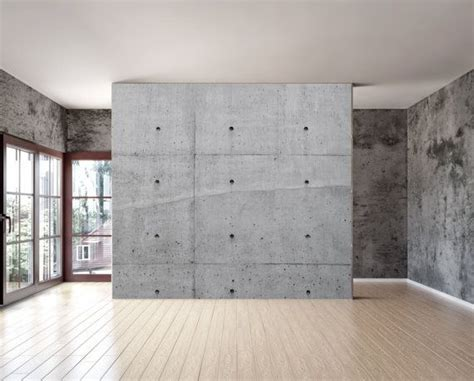 concrete wall mural bare concrete texture wall mural repositionable peel by