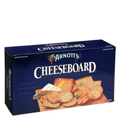 crackers nz buy arnotts cracker selection cheeseboard 250g at