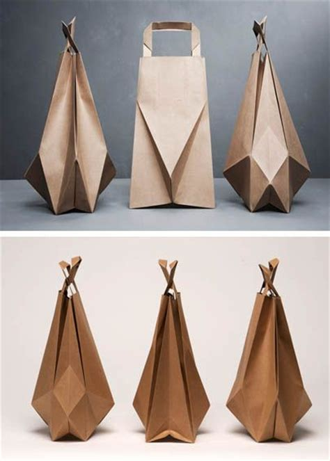 origami bags with paper 17 best images about origami packaging on