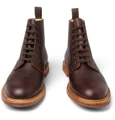grain leather shoes mcnairy grain leather boots cool s shoes