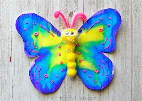 butterfly crafts for to make how to make a gorgeous butterfly craft i crafty things