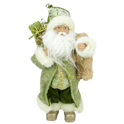 standing santa claus figure northlight st s standing santa claus