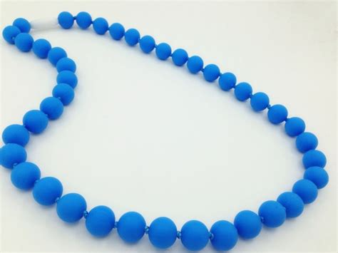silicone necklace silicone teething necklace wholesale baby teething