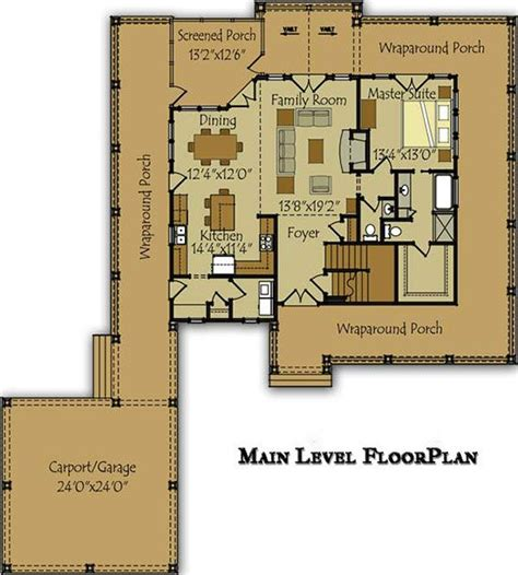 5 bedroom house plans with wrap around porch 3 bedroom open floor plan with wraparound porch and