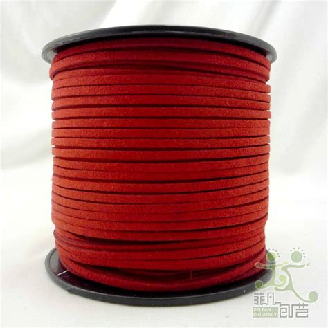 beading leather cord 10colors 3mm faux suede cord leather jewelry