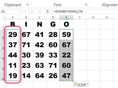 how to make bingo cards in excel how to make bingo cards in excel techwalla