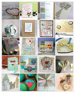 map craft paper 15 best images about crafts using maps on