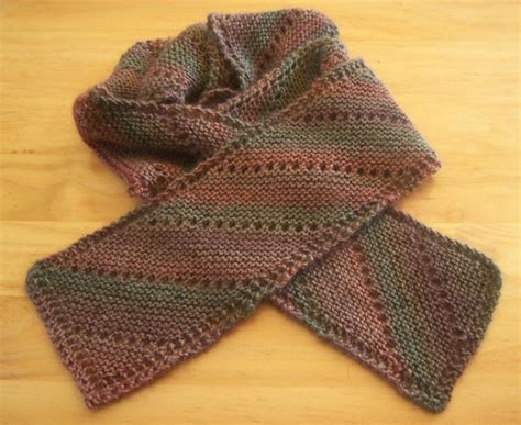 easy knit scarf scarf knitting free pattern patterns gallery