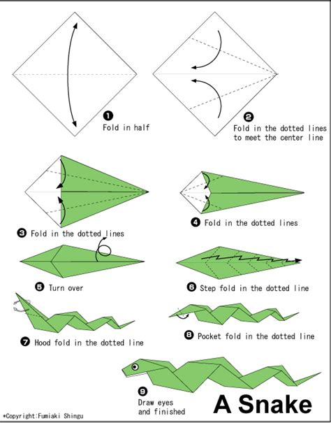 origami cool stuff to make origami snake must make for jaden cool things i like