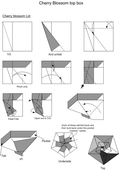 how to make an origami box origami