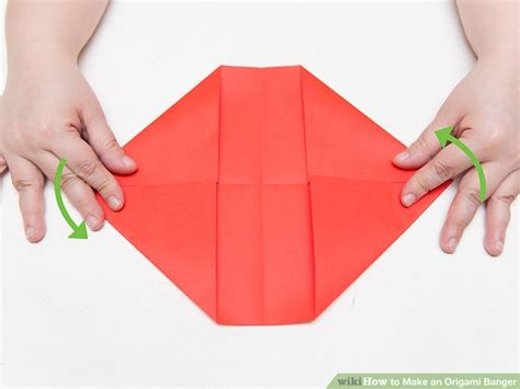 origami banger how to make an origami banger 13 steps with pictures