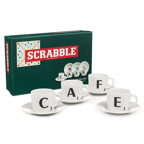 scrabble set scrabble espresso set 8pce s of kensington