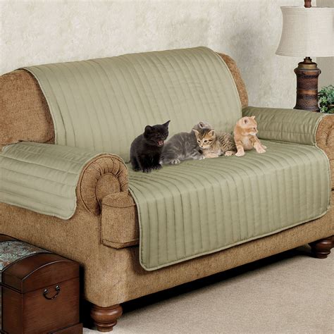 pet cover for sofa twill loveseat pet furniture cover touch of class