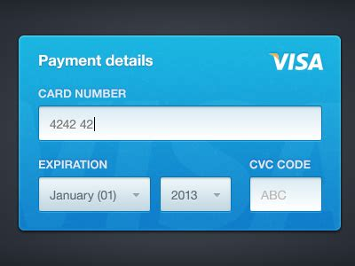 make a free credit card credit card form by haziq mir dribbble