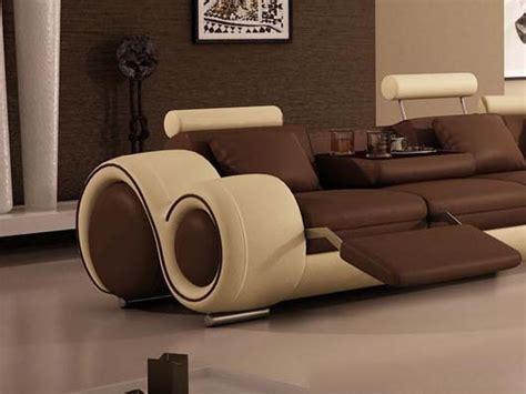 designer reclining sofa unique sectional sofas homesfeed