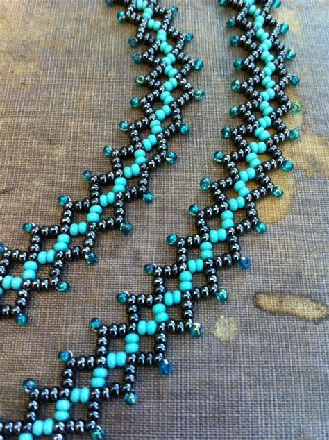 seed bead weaving patterns 477 best beading spirals chains and ropes images on