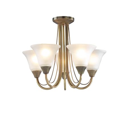 light fitting ceiling swan low ceiling 5 light antique brass ceiling fitting
