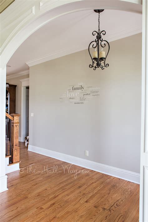 behr paint colors pewter foyer with behr sculptor clay and silky white trim paint