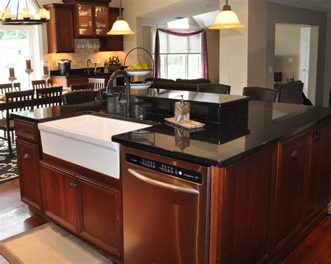 granite kitchen island ideas granite kitchen islands photo gallery black galaxy