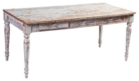 white distressed desk white wood distressed desk 1 600 est retail 499 on