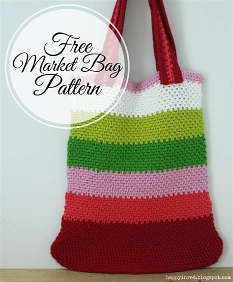 knitting market 23 market bag patterns to crochet knit or sew wee folk