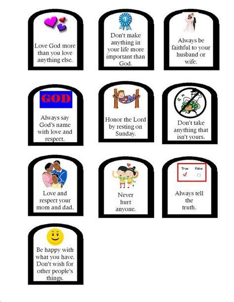 ten commandments crafts for ten commandments jpg 618 215 800 great ten commandments