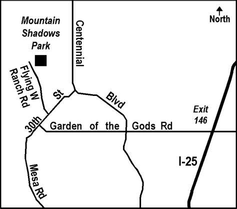 Garden Of The Gods Exit Bfc Mountain Shadows Park