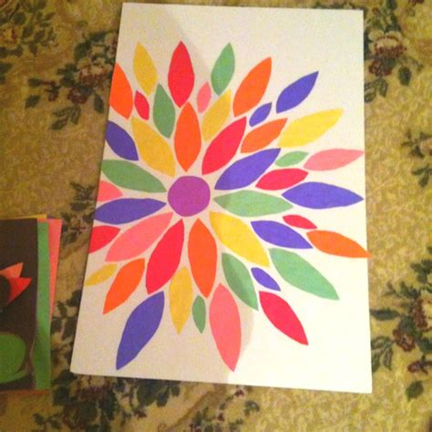 arts and crafts ideas with construction paper construction paper wall d i y paper