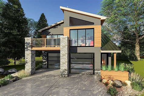 modern home house plans ultra modern tiny house plan 62695dj architectural designs house plans