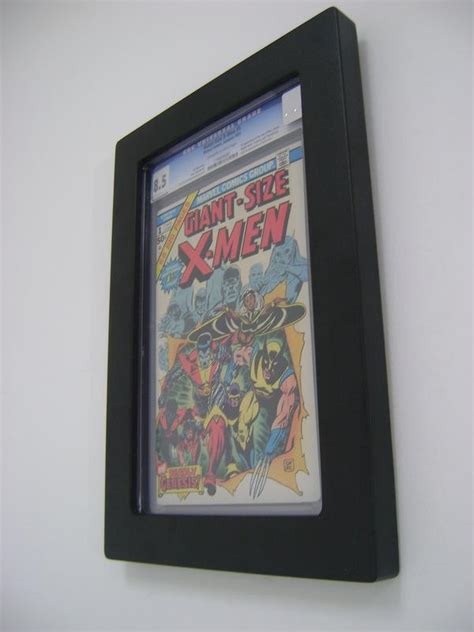 picture frame books how to effectively display slabbed comic books the comic
