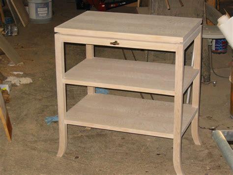 white oak desk custom made white oak desk by wise furniture manufacturing