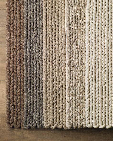 chunky knit rug chunky braided wool rug