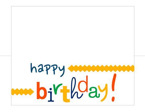 how to make happy birthday cards happy birthday card free printable