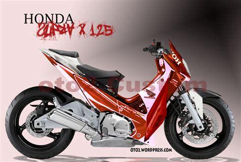 Modif Supra X 125 Tahun 2013 by Otomotif Bike Contoh Modifikasi Honda Supra X 125