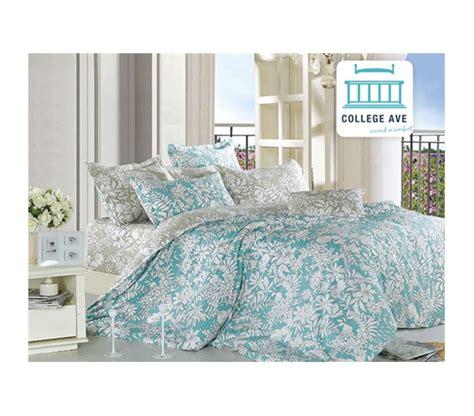 college bed sets ashen teal xl comforter set college ave designer