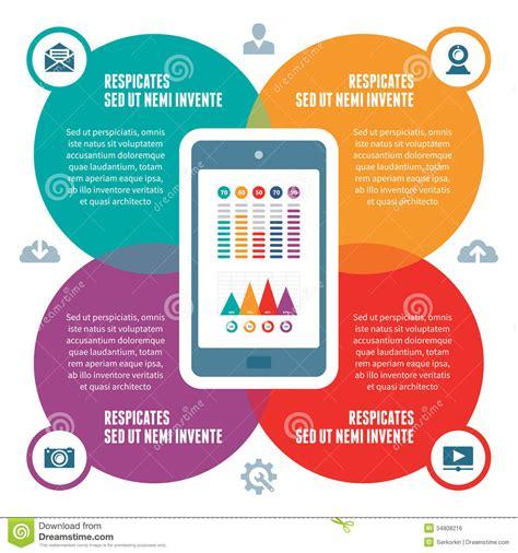 scheme design infographic concept vector scheme with icons stock