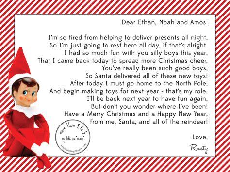elf on the shelf goodbye letter template letters archives elf on the shelf letters