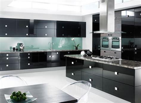 modern black kitchen cabinets modern kitchen designs