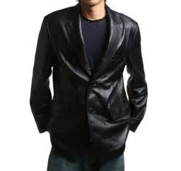 real leather jackets mens flatseven mens genuine leather jacket sheepskin blazer two button lj112 jackets coats
