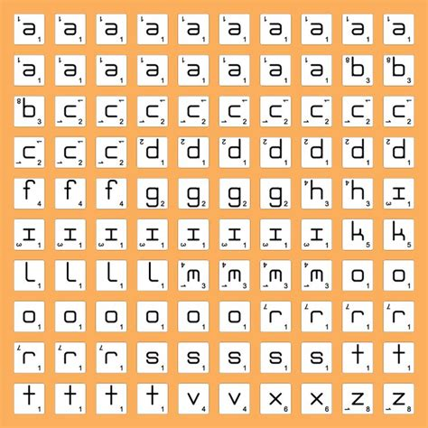 number of each letter in scrabble 1000 images about digi alphabets on free