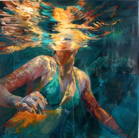 acrylic painting in layers 17 best images about water portrait paintings on