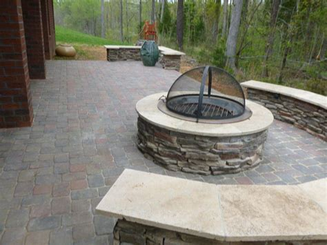 outdoor firepit covers pit archadeck of